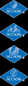 NCCAOM Certification logos (4) vertically