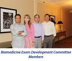 Biomedicine Exam Development Committee 2015
