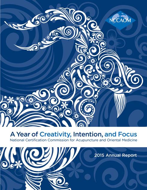NCCAOM_2015_Annual_Report cover