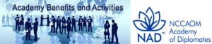 Academy benefits and activities banner