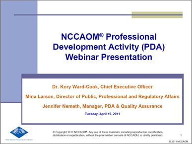 professional development webinar preview