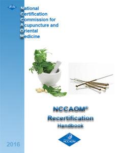 Recertification Handbook Cover