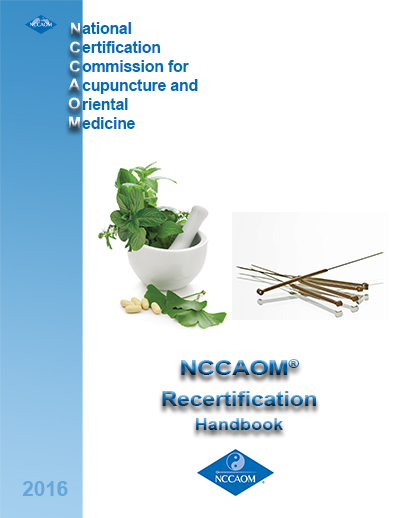 Recertification Handbook