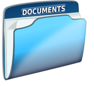 documents requirement folder graphic