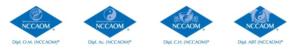 NCCAOM Cert type logos