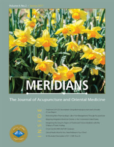 Meridians Journal Cover Page Image