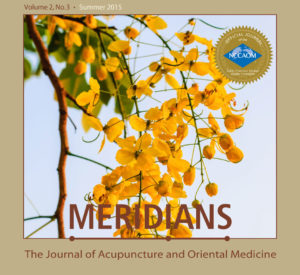 Meridians: JAOM Summer 2015 Issue