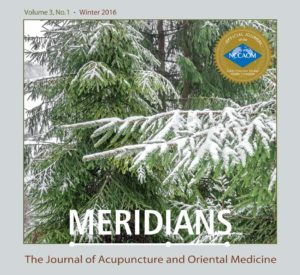 Meridians: JAOM Winter 2016 Issue