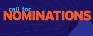 Call for nomination banner