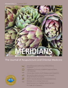 Meridians Journal Summer 2017 Cover Page Image
