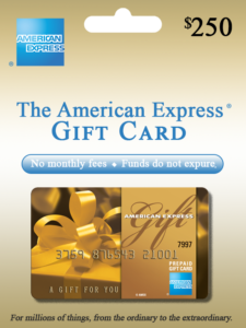 Amex Gift Card preview
