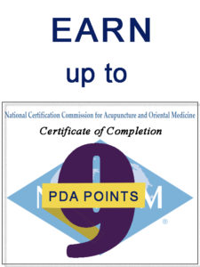 PDA points graphic