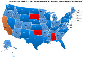 States-using-NCCAOM-Certification-or-Exams01-08-18