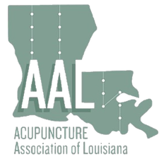 Acupuncture Association of Louisiana logo.