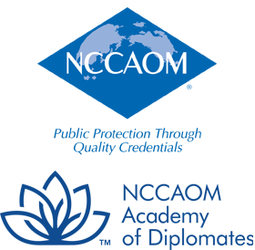 NCCAOM Academy of Diplomates logo.