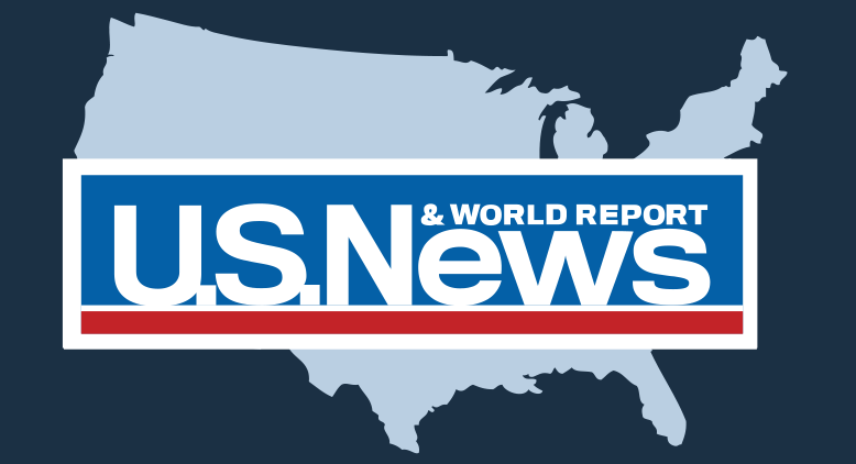 US News and World Report logo.