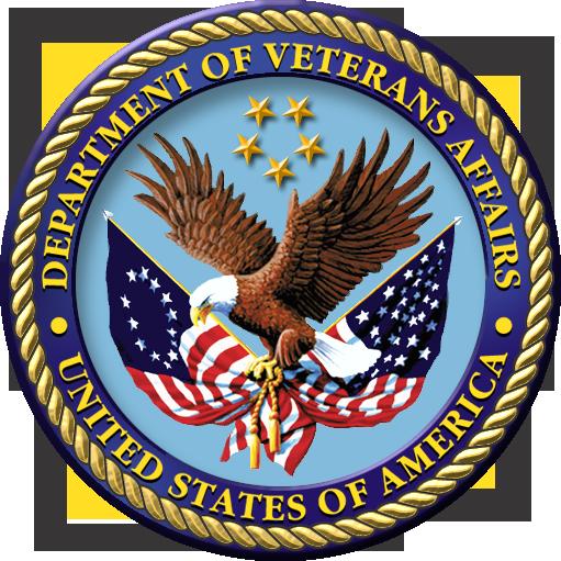 U.S. Department of Veteran Affairs seal.