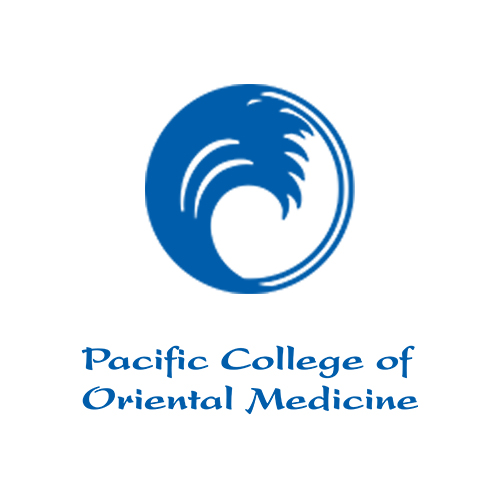Pacific college of Oriental Medicine logo.