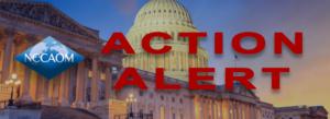 NCCAOM action alert banner