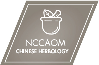 NCCAOM Chinese Herbology Certification Digital Badge.