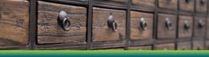 Wooden drawers Hero Image