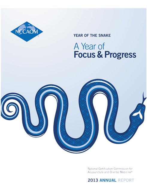 NCCAOM_2013_Annual_Repor cover