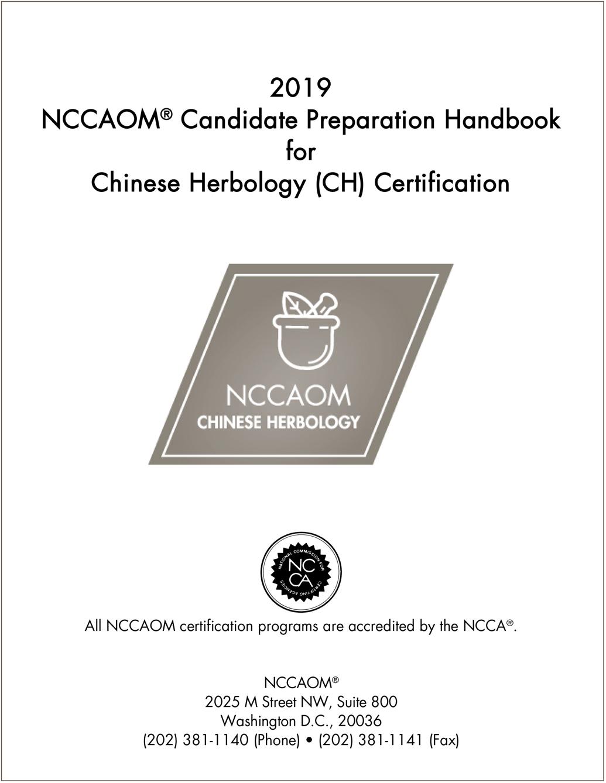 NCCAOM Prep Handbooks | NCCAOM