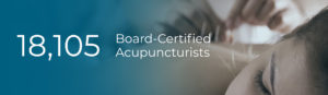 Home Page Number of Board Certified Acupuncturists (18,105)
