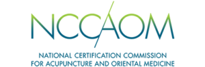 NCCAOM logo with name