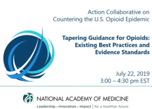 Preview of the Action Collaborative on Countering the U.S. Opioid Epidemic hosted a free public webinar.