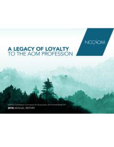 2018-NCCAOM-Annual-Report