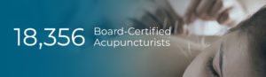 Home Page Number of Board Certified Acupuncturists (18,356)