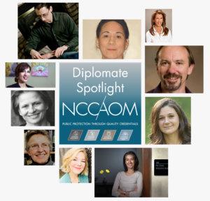 NCCAOM Dip Spotlight collage