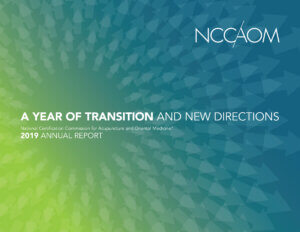 2019-NCCAOM-Annual-Report-Cover