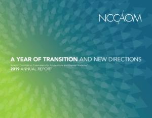 2019_NCCAOM_Annual_Report_Cover