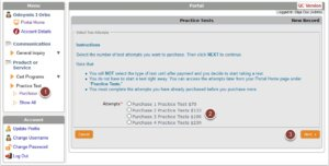 Practice Test Packages image