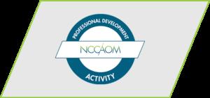 NCCAOM PDA activity logo