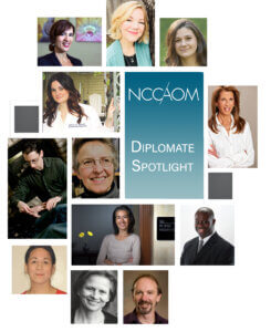 NCCAOM Diplomate Spotlight Collage