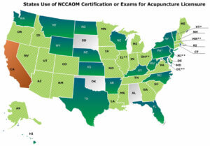 States-using-NCCAOM-Certification-or-Exams