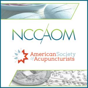 NCCAOM and ASA logos