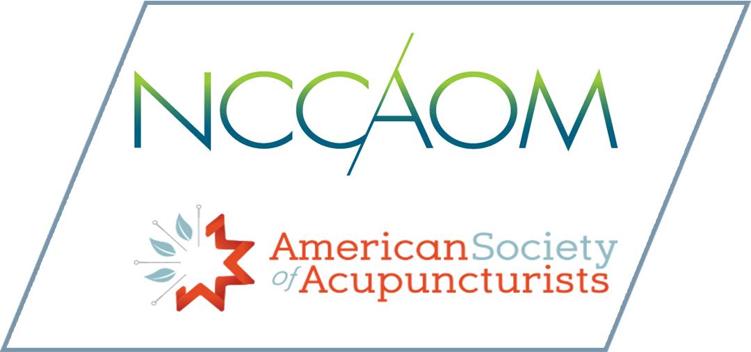 NCCAOM and ASA logos.
