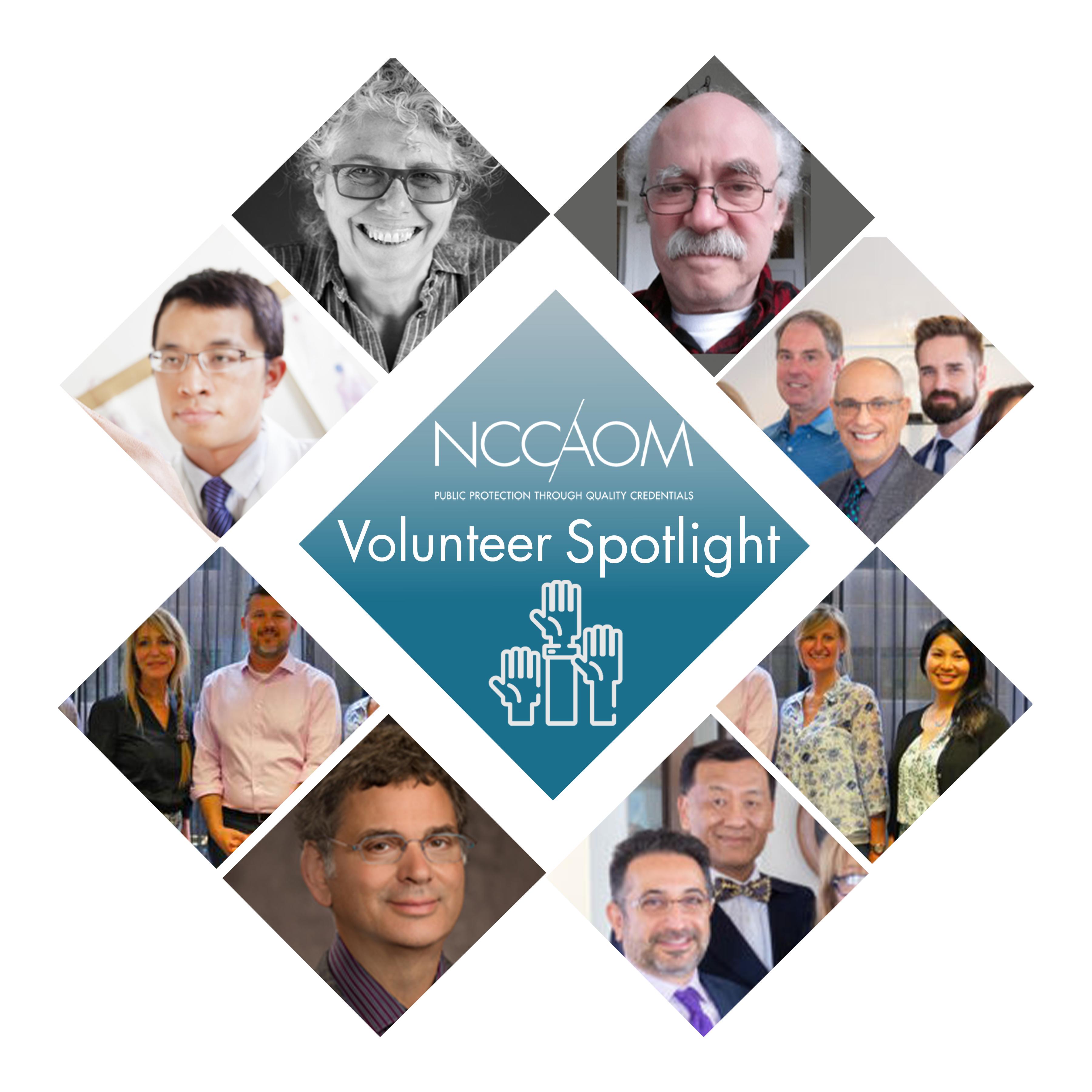 Volunteer Spotlight collage.